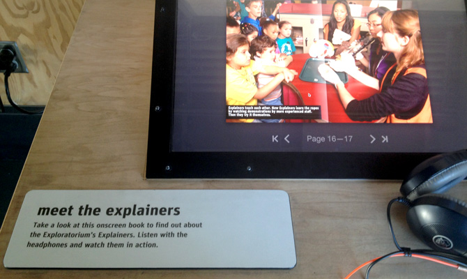 Exploratorium Explainers